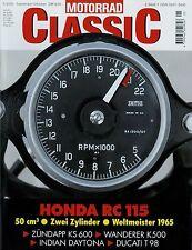 Motorrad Classic 5/00 2000 AJS Porcupine Ducati 125 Greeves Zündapp KS600 Eckert