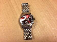 Vintage Mark Naimer Men's Watch Wristwatch 2729-4 Quartz Stainless Steel Band