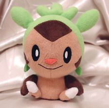 """Pokemon Chespin 5"""" Banpresto XY Chibi Plush Stuffed Animal Toy + Free Card!"""
