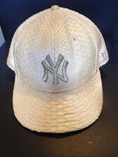 New York Yankees NEW ERA 59FIFTY LIMITED EDITION SNAKESKIN Python HAT SZ 7 1/4