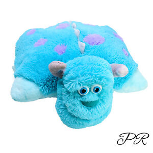 Monsters Inc Sully Pillow Pets Plush Cushion Soft Toy Washed & Clean 55cm