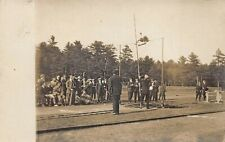 Waterville ME Colby College Track & Field Events Atkins Studio RPPC A-2