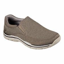 Skechers Expected Gomel Slip-On Sneaker Mens size 8.5 10 11 12 Taupe > NEW