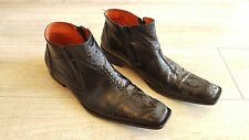 Robert Wayne 'Durango' Mens Black Leather Boots size 11