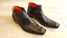Robert Wayne 'Durango' Mens Black Leather Boots size 11