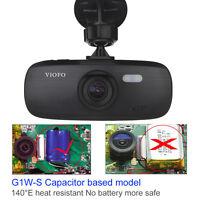 """G1W-CB Updated Viofo G1W-S HD 1080P 2.7"""" Super Capacitor Car Dash Cam Camera DVR"""