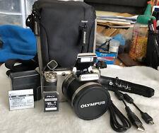 Olympus SP-800UZ 14MP Digital Camera with 30x Wide Angle Zoom~~Nr Mint~~Bundle~~