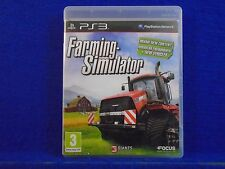 ps3 FARMING SIMULATOR Over 100 Vehicles! Playstation PAL UK REGION FREE