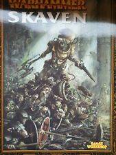 Warhammer Skaven Supplement Codex Armeebuch Englisch Fantasy