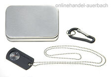 SMITH & WESSON DOG TAG WATCH  Uhr Taschenuhr Militäruhr Neck Watch  SWW1564BK