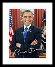 Barack Obama 8x10 Signed Photo Print Portrait Autographed US President