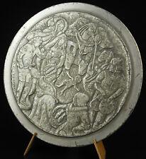 Médaille La  nativité Santon de Provence ex num 5/150 1968 Victor Daumas medal