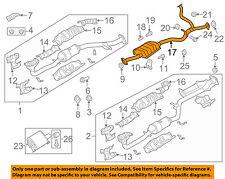 SUBARU OEM 10-14 Outback 3.6L-H6 Exhaust-Intermediate Pipe 44200AJ10A