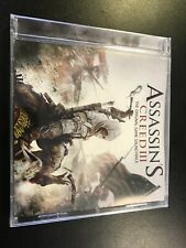 ASSASSINS CREED III VIDEO GAME SOUNDTRACK New Sealed