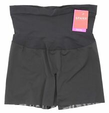 Spanx Shape My Day Girl Black Shorts 0906 Size Large