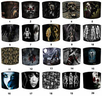 Lampshades Ideal To Match Alchemy Gothic Magistus Grim Reaper Skeletons Duvets.