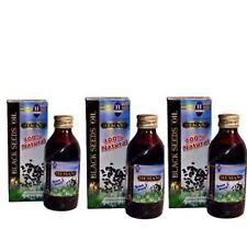 Hemani Black Seed/Cumin/Nigella Sativa Oil 100% Pure Natural  Oil pack of 3