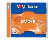 5 Verbatim Rohlinge Dvd-r 4 7gb 16x Jewelcase