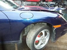PORSCHE BOXSTER 986 - 911 996 OS DRIVERS SIDE WING LAPIS BLUE WING X481 WTO