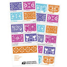 USPS New Colorful Celebrations booklet of 20