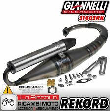 MARMITTA REKORD GIANNELLI MINARELLI VERTICALE MBK BOOSTER NG YAMAHA BW'S 50