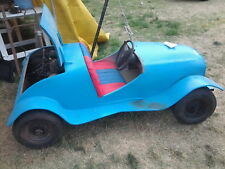 classic kids motorised drivable toy car, all metal