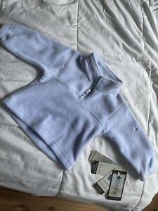 NWT, Baby boy clothes, 18 months, Columbia Mountain Fleece Jacket Light Blue