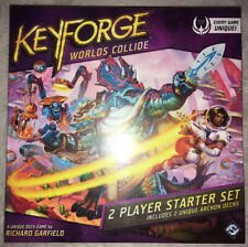 KeyForge Worlds Collide Two-Player Starter Set Card Game New