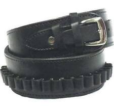 NEW Leather Holster and CARTRIDGE Belt Hand Tooled Embossed Leather BLACK 70209