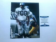 Jim Otto Hot! signed autographed classic Raiders 8x10 photo Beckett BAS coa