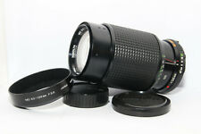 MINOLTA MD ZOOM 50-135mm 3.5 Obiettivo + PARALUCE Reflex |MC MD XE XD XM XG X|