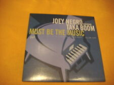Cardsleeve Single CD JOEY NEGRO Must Be The Music 2TR 1999 house disco