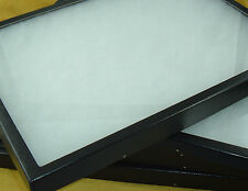 "5-12""X 16"" X 2""Jewelry Riker Mount display case flea market Collectors box NEW"