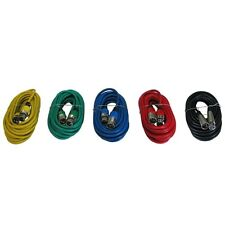 5 pack 3pin XLR Balanced Patch snake powered speaker monitor Cables Colored 6 ft