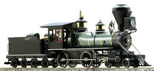 """Accucraft's Live Steam Black """"Unlettered"""" 4-4-0 American"""