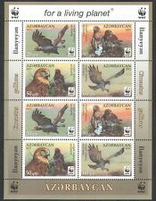 Azerbaijan 2011 Eagle/WWF/Birds/Nature/Conservation/Environment 8v m/s (n37598)