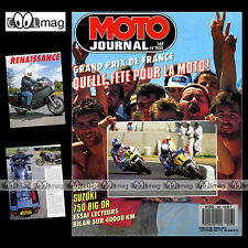 MOTO JOURNAL N°903 NORTON WANKEL SUZUKI DR 750 BIG ★ GP DE FRANCE LE MANS 1989 ★