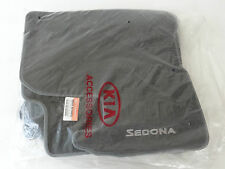 NEW OEM Kia Sedona Carpet Floor Mats 2006-2014 GRAY SHORT WHEELBASE