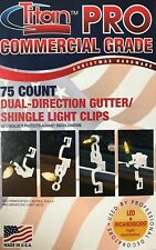 75 Dyno / Titan Pro Commercial Grade Dual-Direction Gutter & Shingle Light Clips