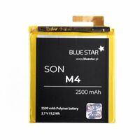 Bluestar Akku für Sony Xperia M4 Aqua 2500 mAh 3,7V Batterie Li-ion Accu