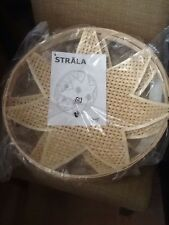 "Ikea STRALA Pendant lamp shade, bamboo 16"" Diameter NEW"