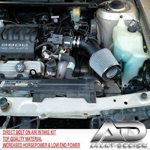 """PONTIAC GRAND PRIX SE GT GTP 3.8 3.8L V6 AIR INTAKE 1997-2003 3.5"""" PIPE HEATSHIE"""