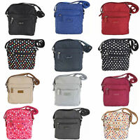 SPIRIT MEDIUM TRAVEL CROSSBODY ORGANISER SHOULDER TOP ZIP HANDBAG BAG STYLE 5766