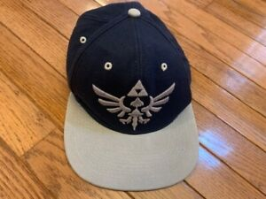 Nintendo The Legend of Zelda Skyward Sword Men's Black Hat Snapback Wool Blend