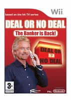 Deal or No Deal: The Banker is Back (Nintendo Wii, 2008) - European Version