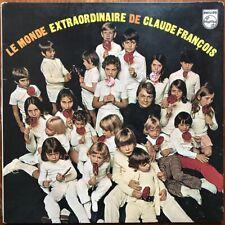 CLAUDE FRANÇOIS Le Monde extraordinaire de 1970 LP Disques Flèche