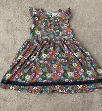 Matilda Jane Size 10 dress floral EUC MJ girl