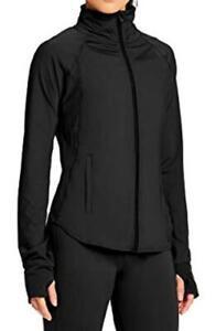Capezio Women's Renewal Warm Up Jacket, Black, Size XL, NwT