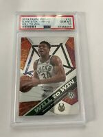 2019 Mosaic GIANNIS ANTETOKOUNMPO Will to Win #12 Bucks 297 PSA 10