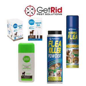 Flea Tick Treatment Spot On Flea Killer Spray Tick Shampoo Organic Flea Killer